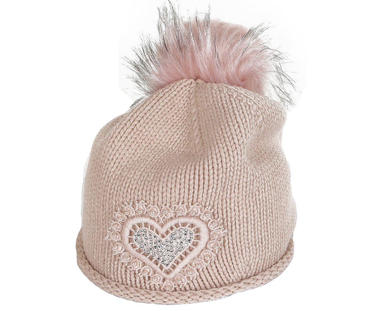 Rinascimento 11517 czapka berreto rosa