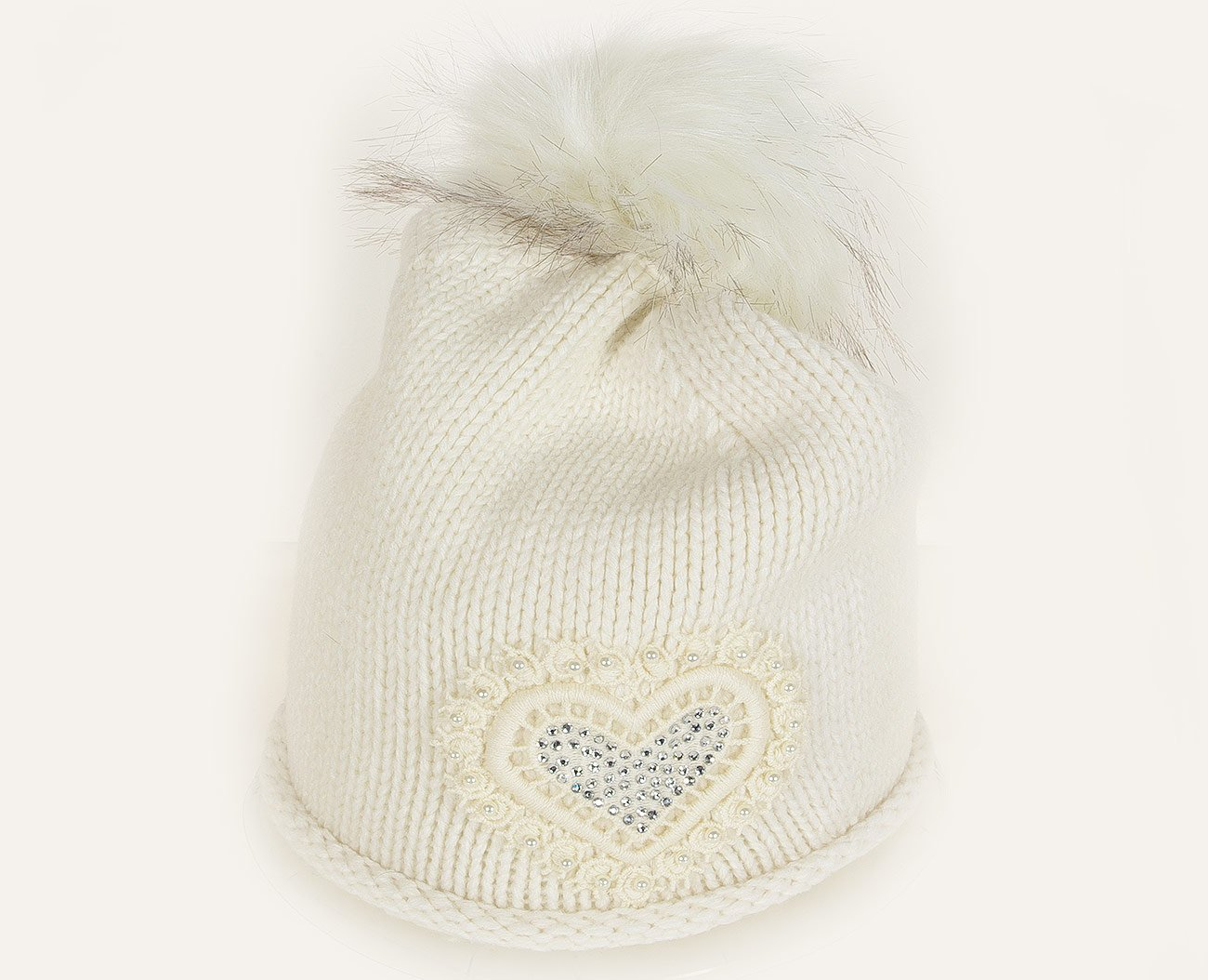 Rinascimento 11517 czapka berreto bianco