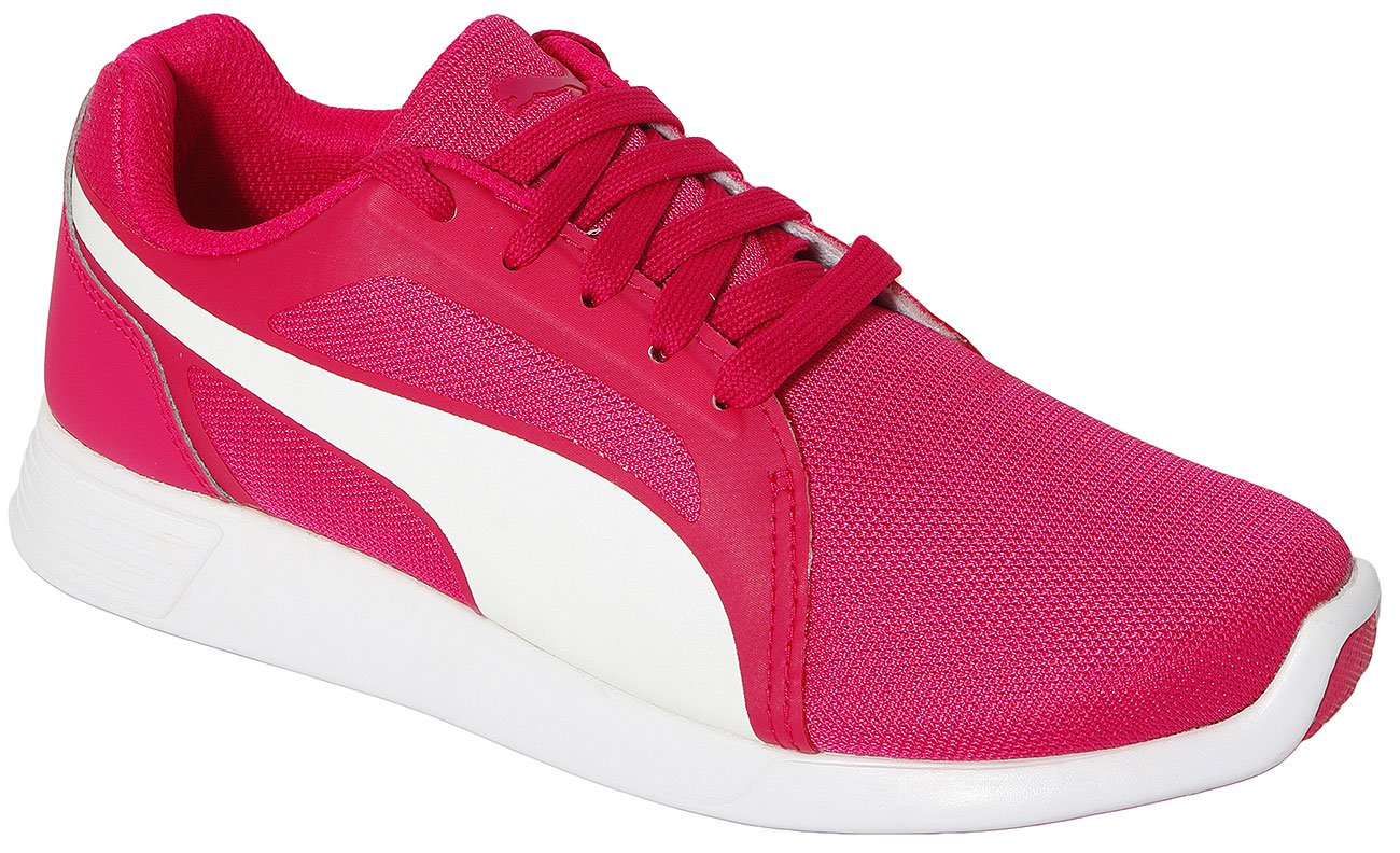 PUMA ST TRAINER EVO JR ROSE RED-WHITE 360873 SPORTOWE