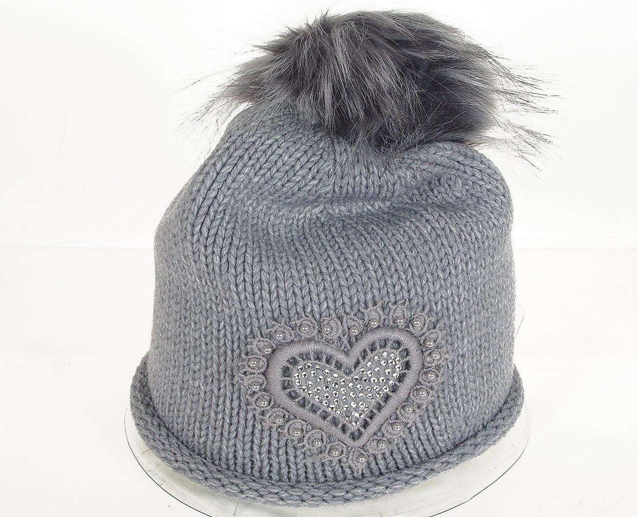 Rinascimento 11517 czapka berreto grigio