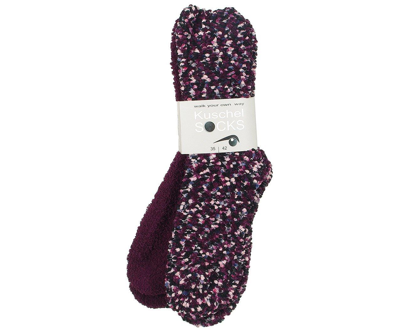 Good Socks 376706 skarpety Kuschel Socks bordo
