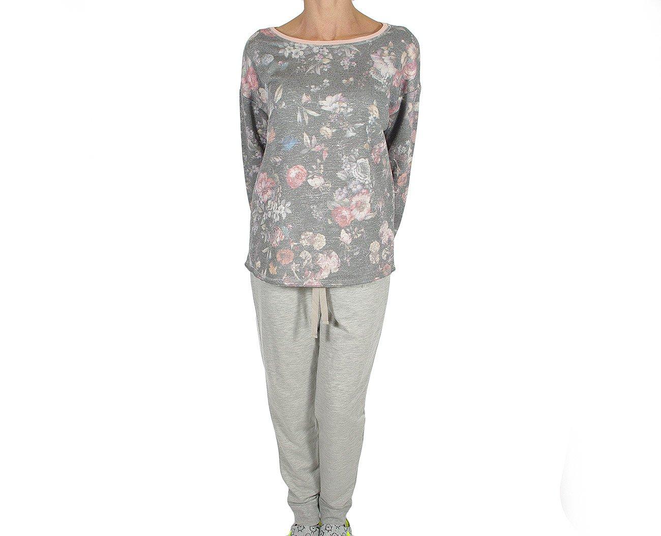 Massana P681296 odzież domowa conjunto mujer gris