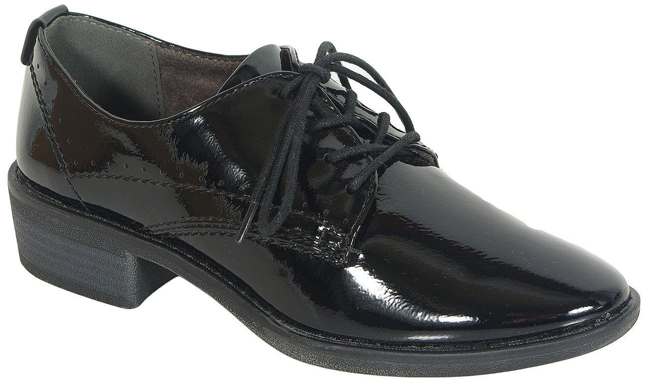 Soft Line 23360 W.H Syn.Patenet Black półbuty