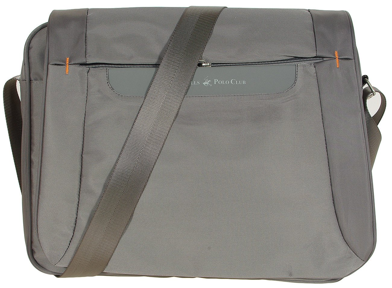"Beverly Hills Polo Club Detriot torba 15"" grigio messenger"