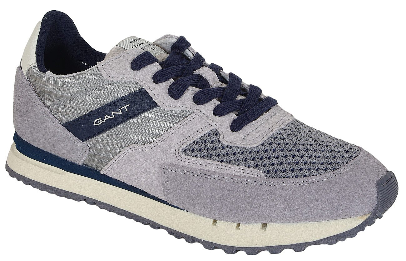 Gant Davenport sneakers Mesh+Suede+Nylon sleet gray/yale