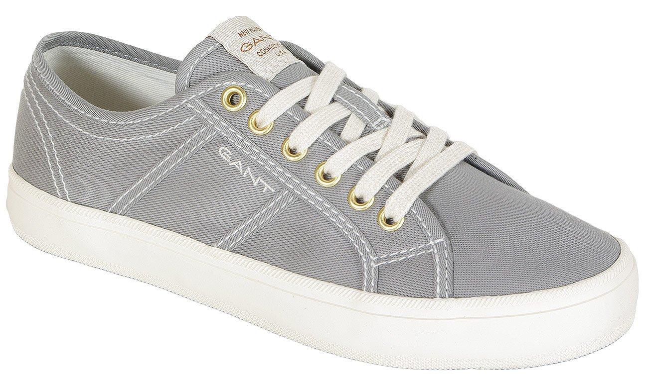 Gant Zoee sneakers tencel twill sleet gray