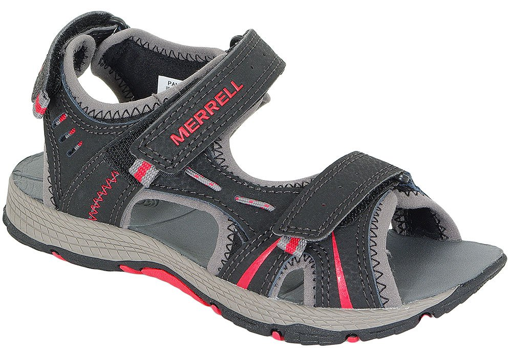MERRELL PANTHER SANDAL 53338 BLACK/RED