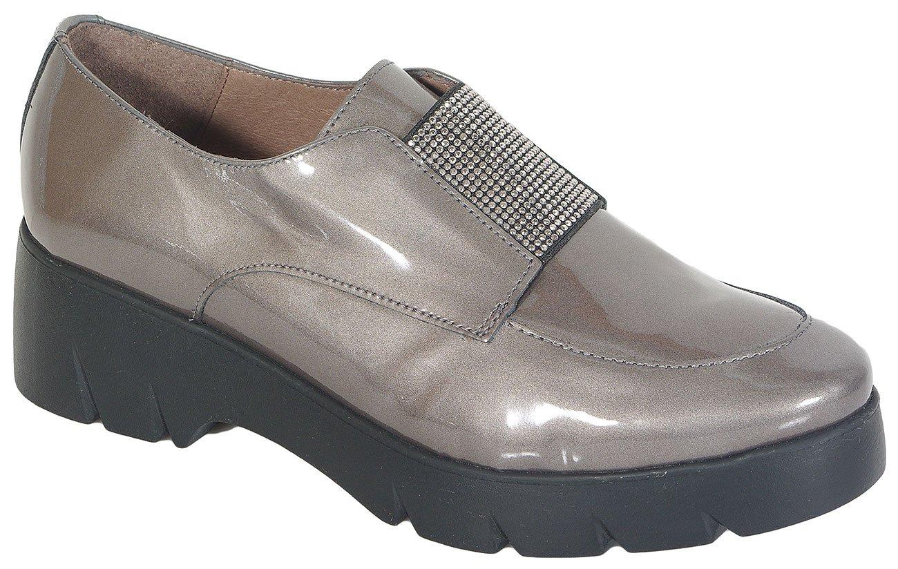 Wonders 4705 Fly loafers Cosmos Plomo