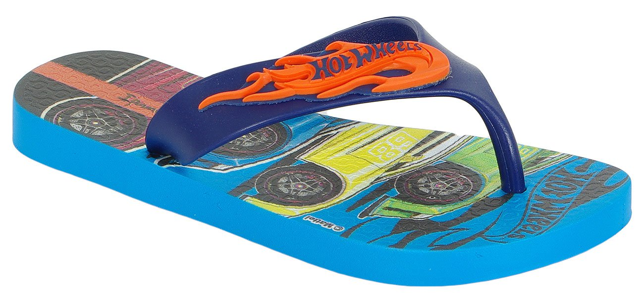 Ipanema Hot Wheels Tyre klapki kids blue