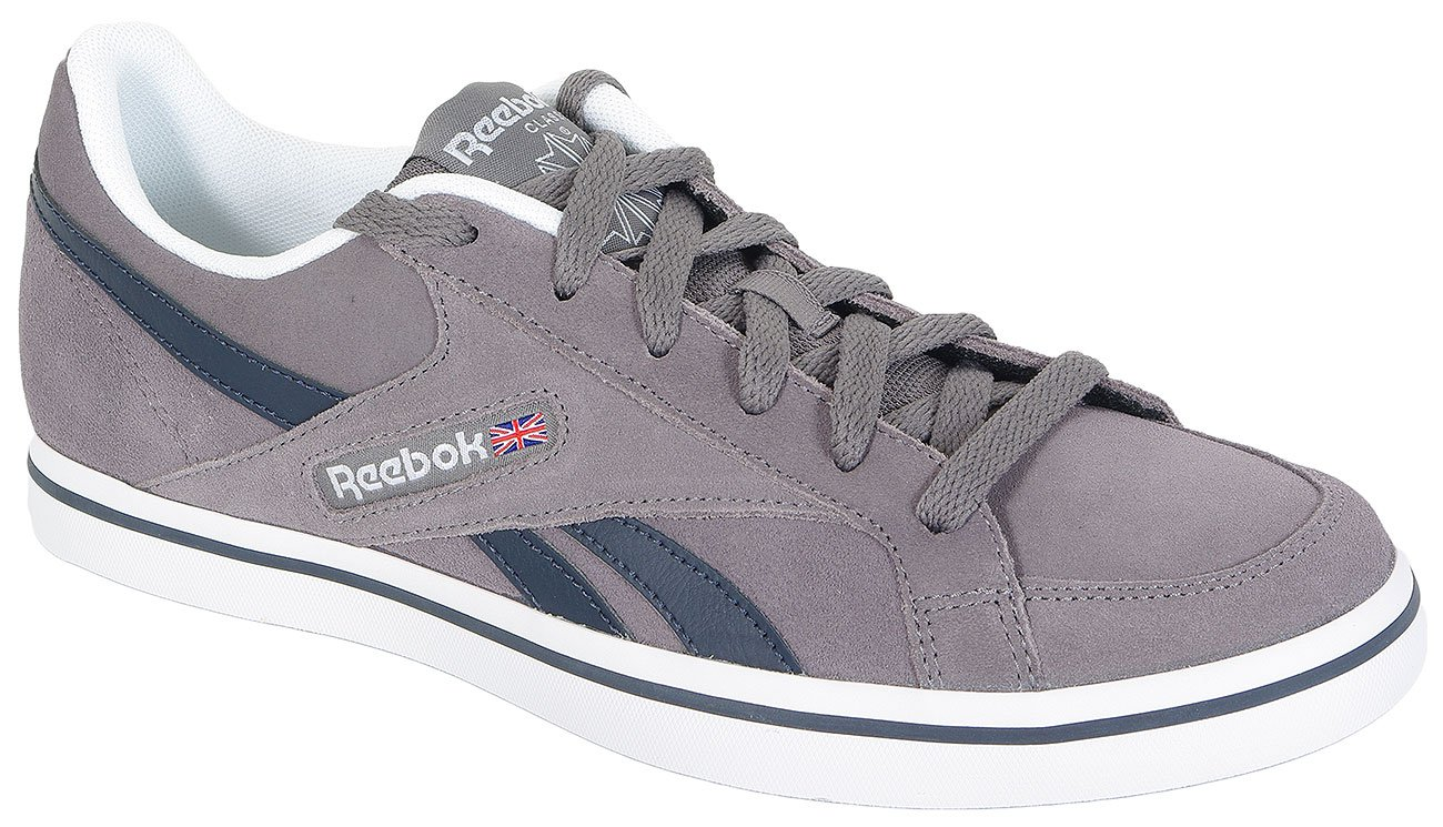 REEBOK LC COURT VULC LOW V66541 SHARK/NIGHT NAV/WHT SNEAKERS