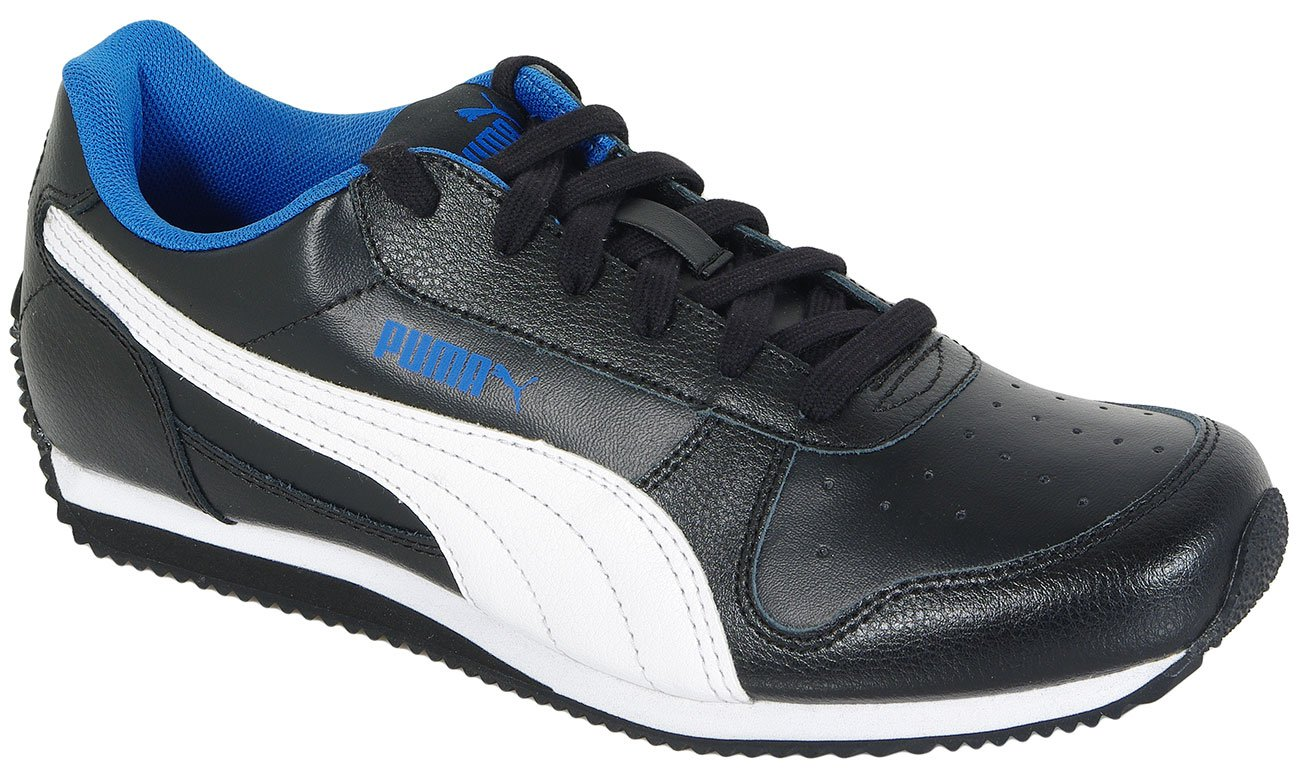 PUMA FIELDSPRINT L JR BLACK-PUMA WHITE 354596 SNEAKERS