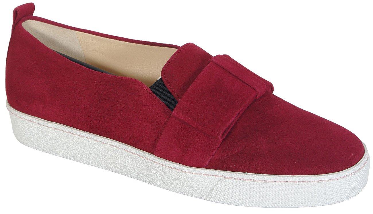 Hogl 0332 Playful Samtkid Raspberr sneakers