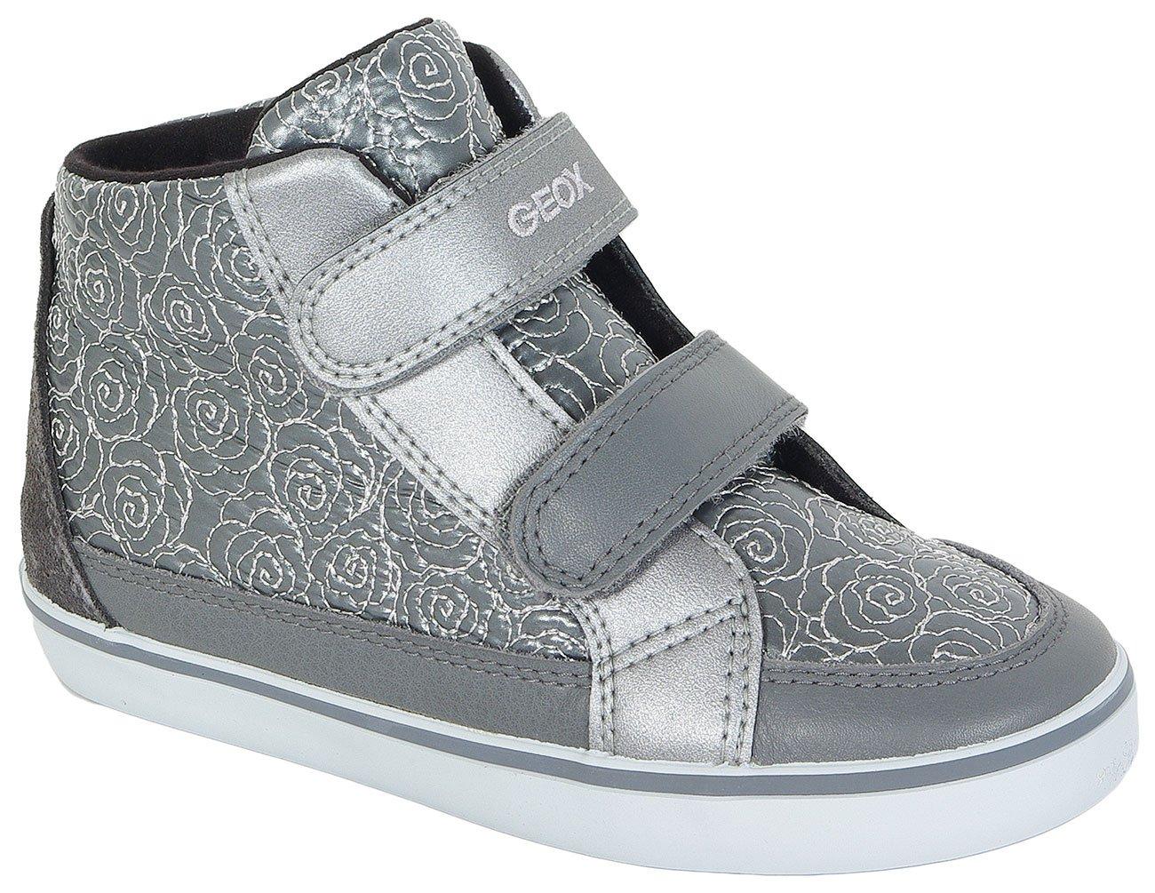 GEOX KIWI A sneakers NYLON+NAPPA DK GREY