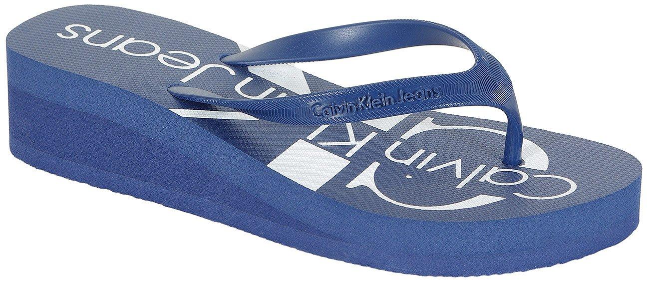 Calvin Klein Jeans Tesse japonki jelly steel blue
