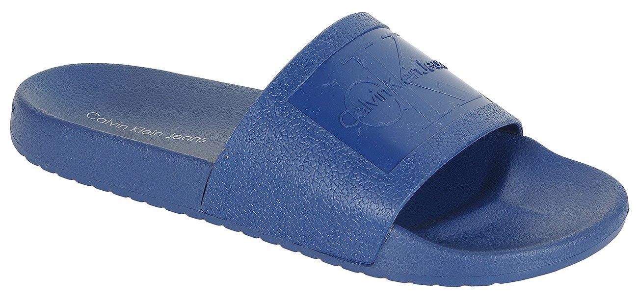 Calvin Klein Jeans Vincenzo klapki jelly steel blue