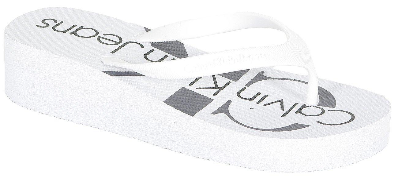 Calvin Klein Jeans Tesse Jelly klapki white