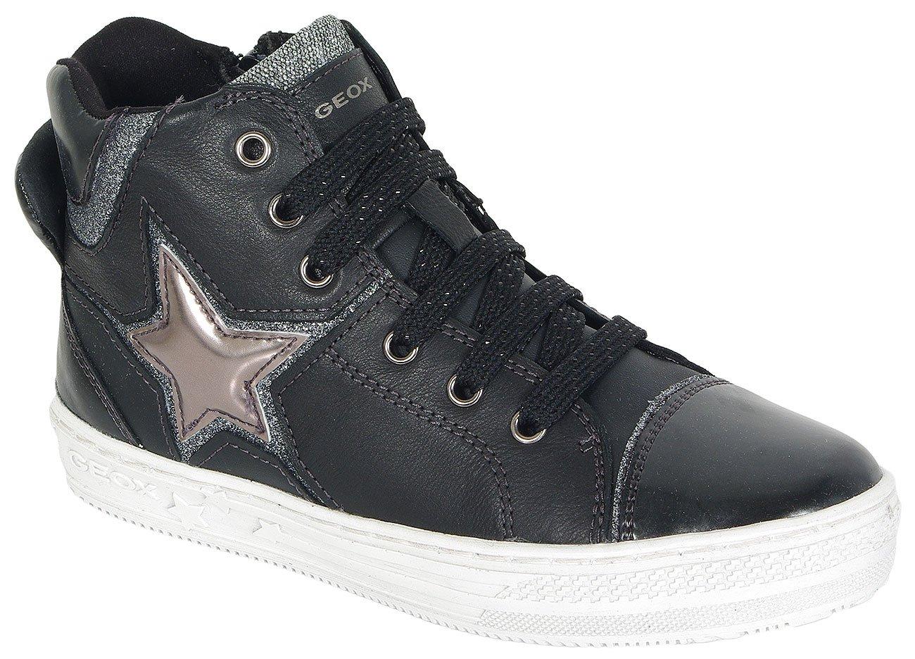 GEOX HIGHROCK B sneakers V.LIS+V.SIN-BLACK