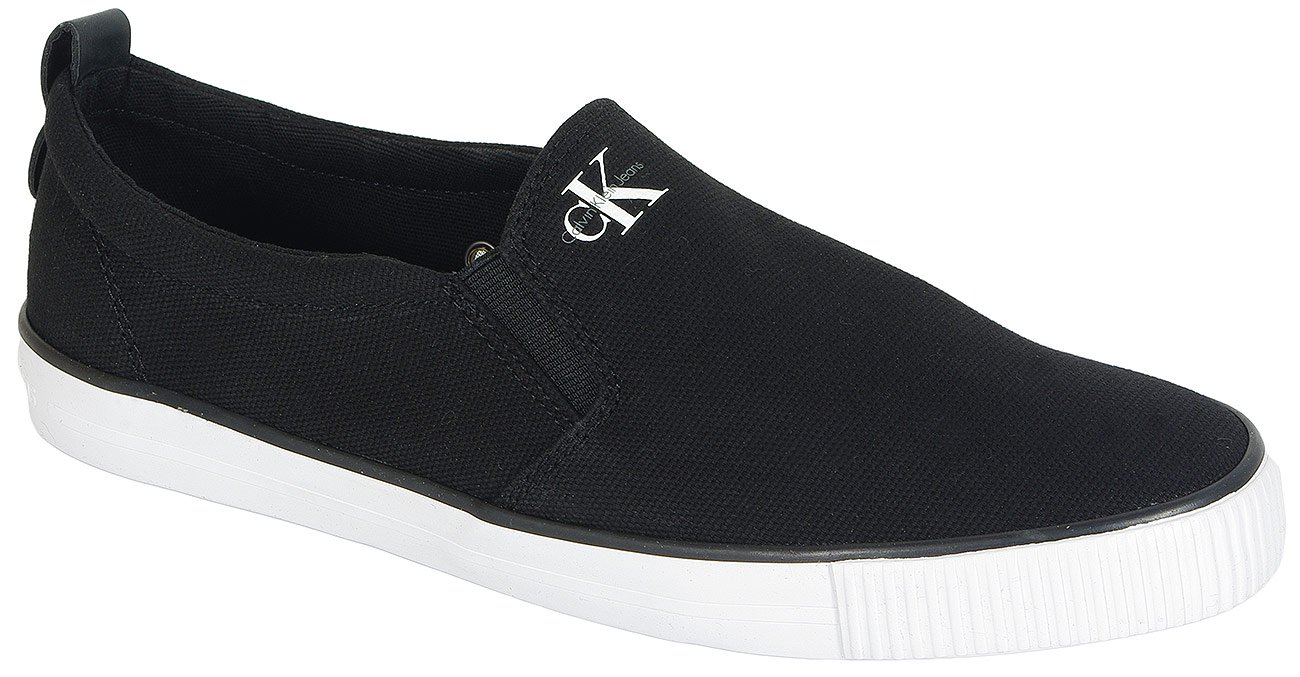 Calvin Klein Jeans Dolly slip on canvas black
