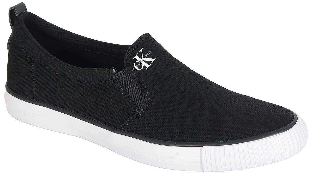 Calvin Klein Jeans Armand slip on canvas black