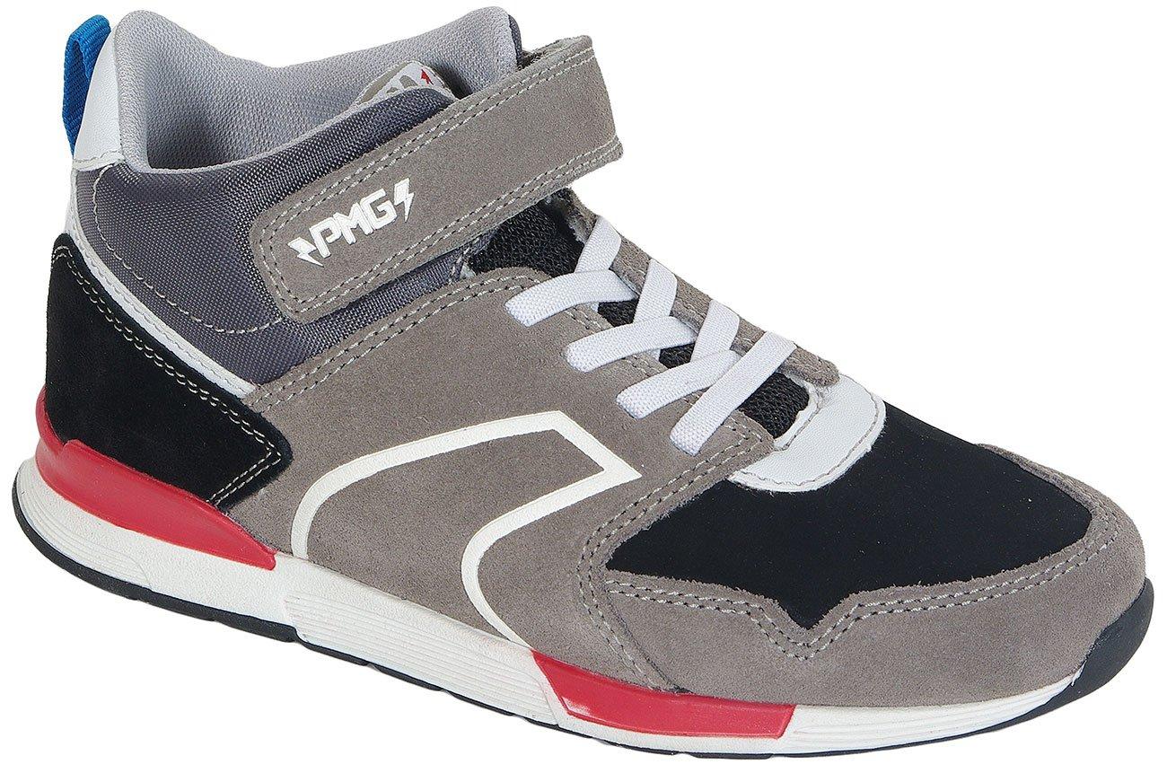 Primigi B&G Cool Suede/Nabuk Pu Grigii sneakers