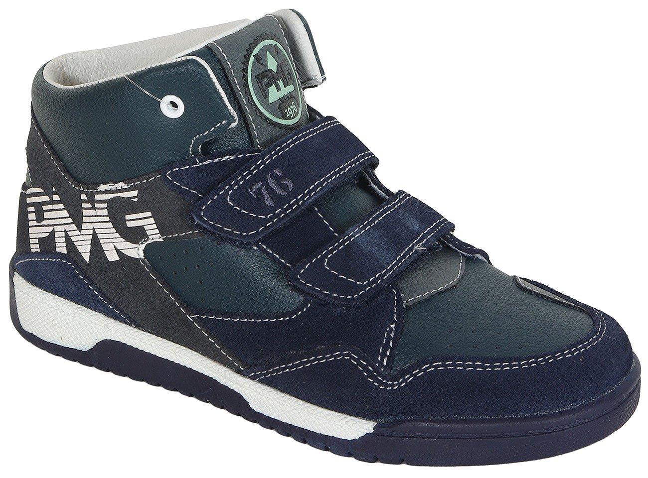 Primigi Basket Neo Suede/Nappa PU Navy sneakers