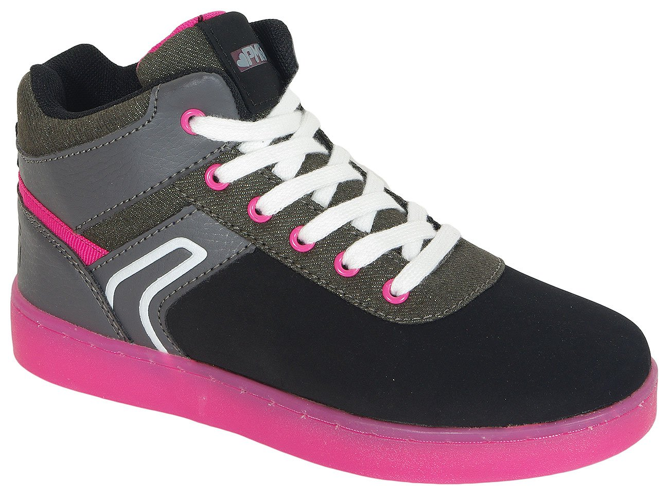 Primigi B&G Total Light Nabuk Pu/Nap. Nero sneakers