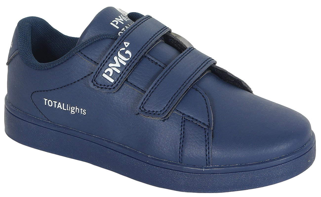 Primigi B&G Total Light Bottaloto Pu/Navy sneakers