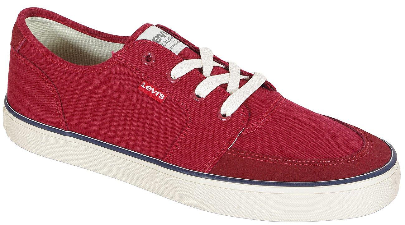 Levis Stevens sneakers medium red