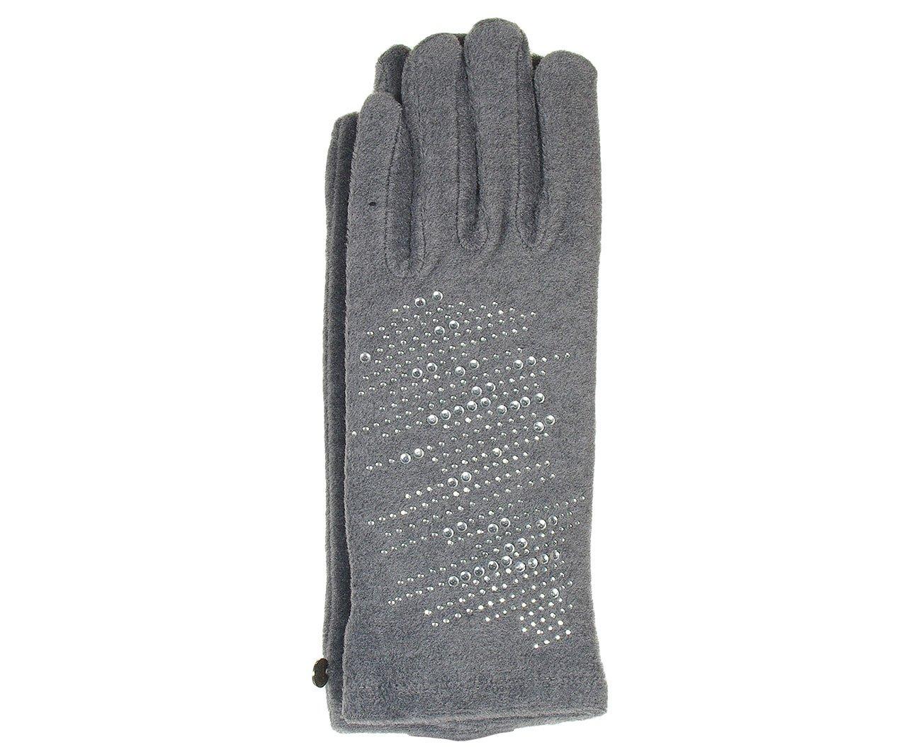 Hat You 1069 Grigio rękawiczki