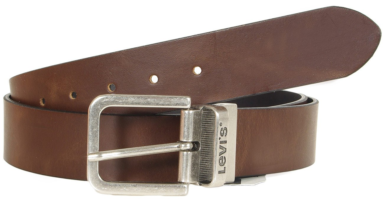 Levis 214826 pasek męski reversible brown/black