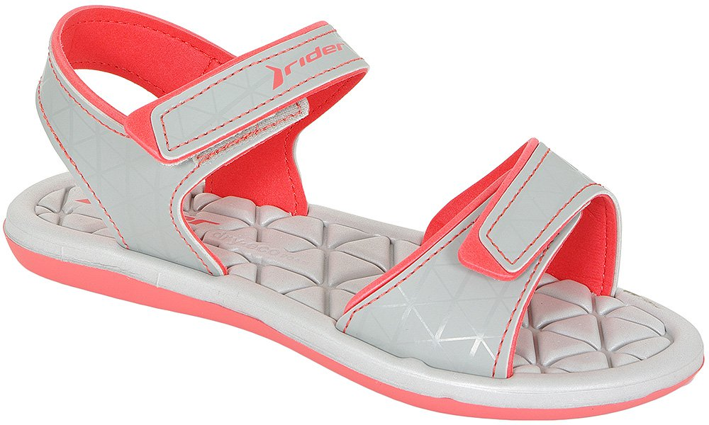 RIDER PLUSH SANDAL FEM 81465 RED/GREY SANDAŁY