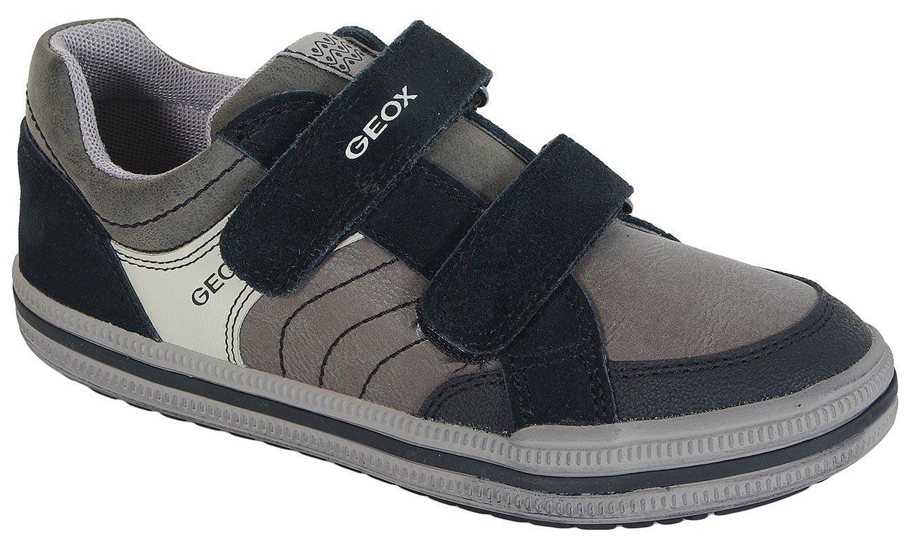 GEOX Elvis F sneakers Gbk+Suede Dk.Grey/Black