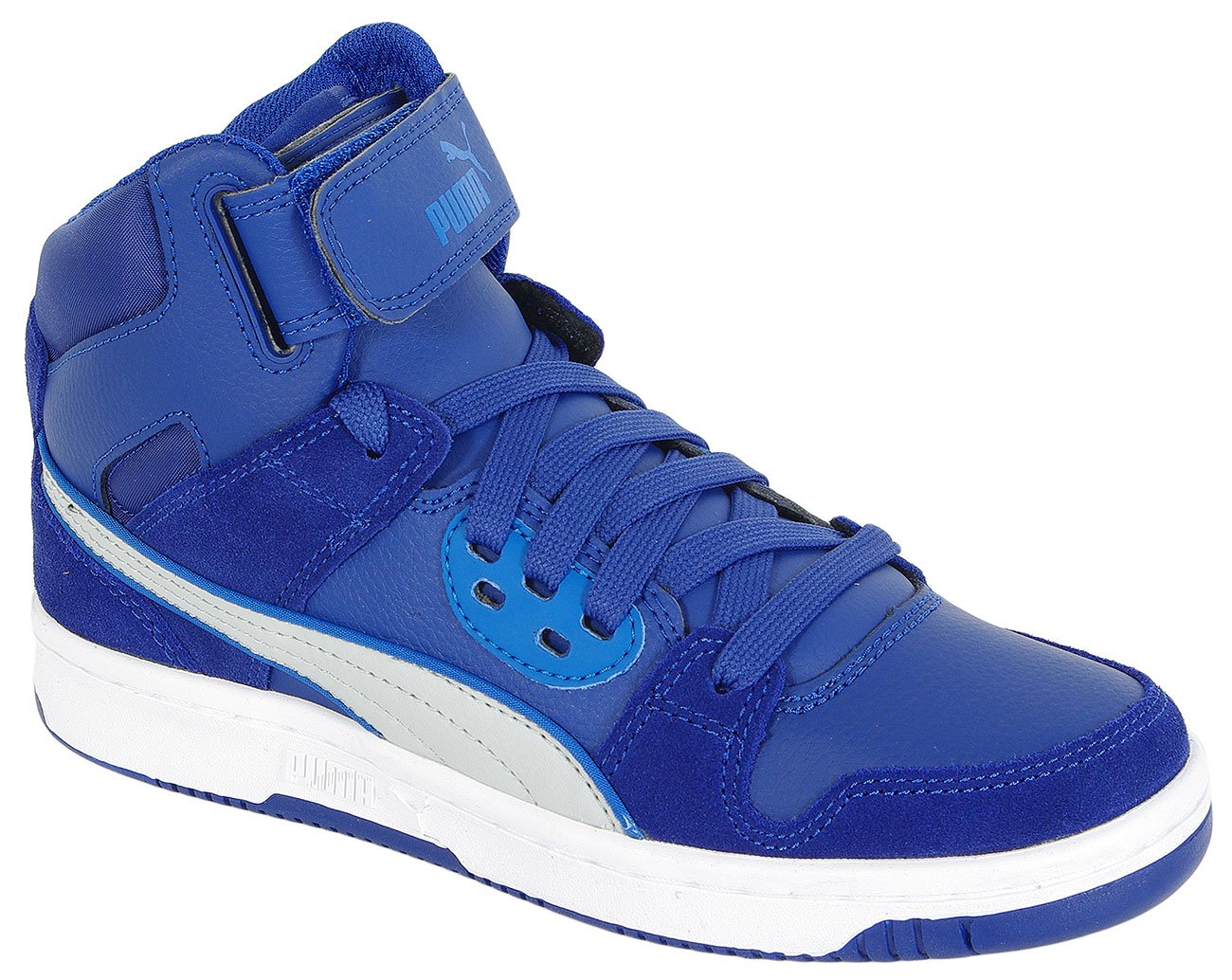 PUMA REBOUND STREET SD JR MAZARINE BLUE GRAY 358585 SNEAKERS