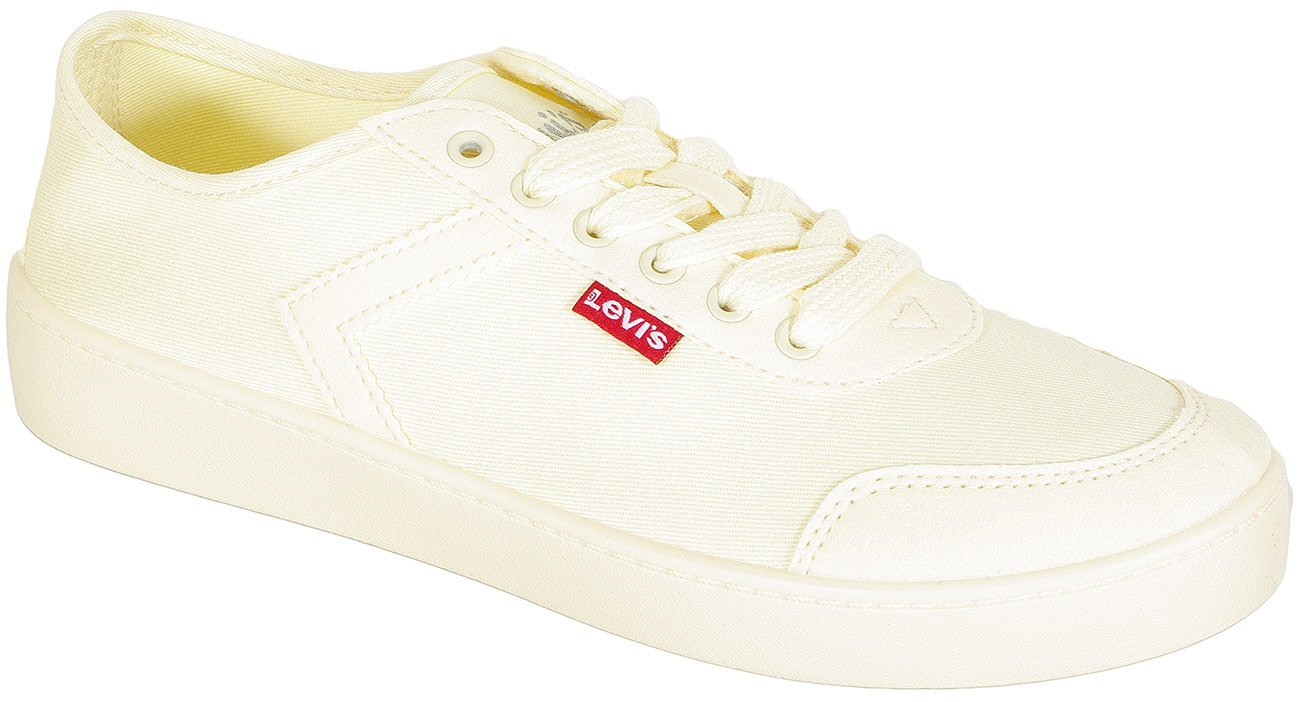Levis Blanca sneakers light yellow