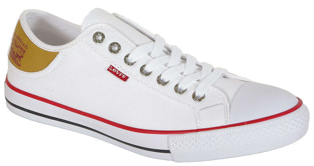 Levis Stan Buck sneakers regular white canvas
