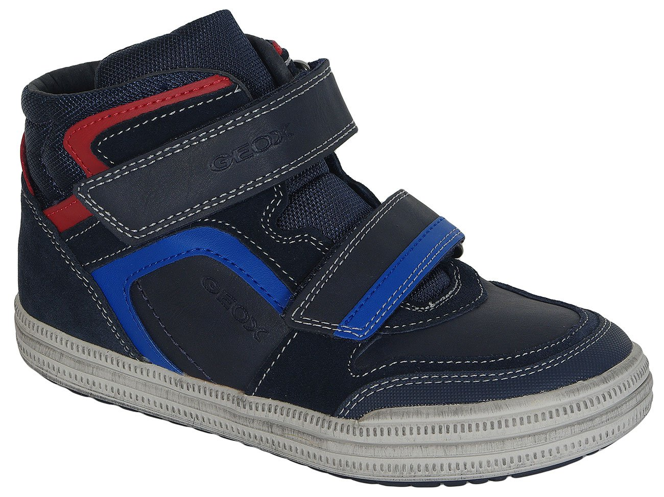 GEOX Elvis H sneakers Geobuck+Suede Navy/Royal