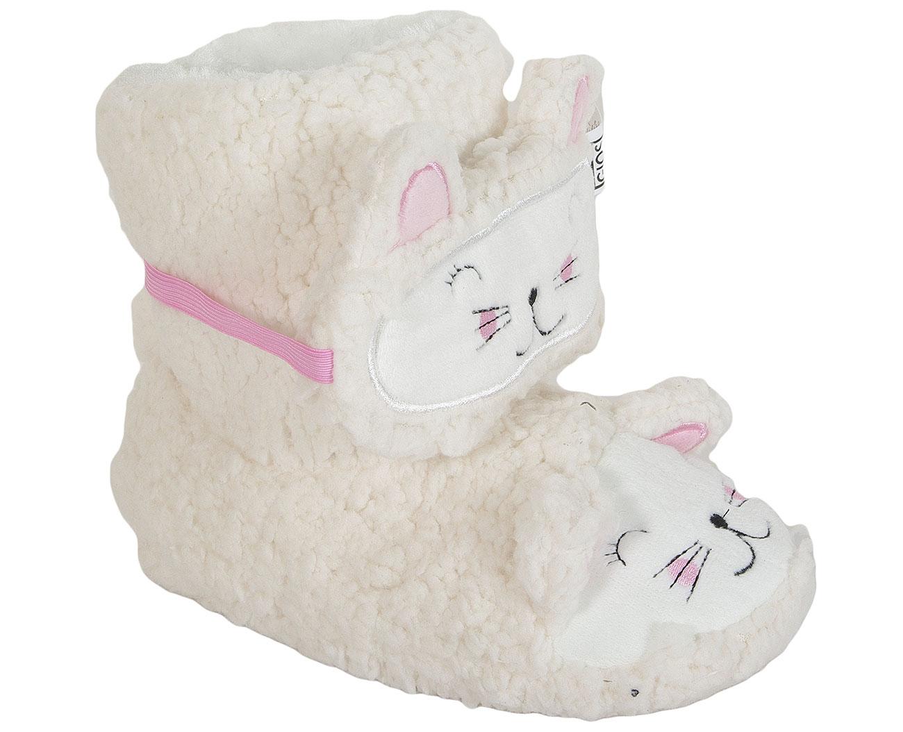 Gioseppo 40947 Off White obuwie domowe