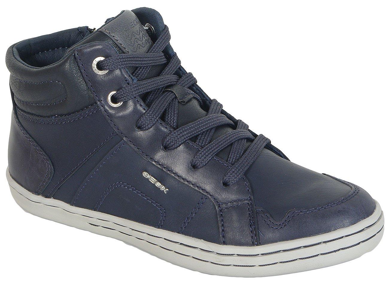 GEOX Garcia C Syn.Le+Wax.Lea-Navy sneakers