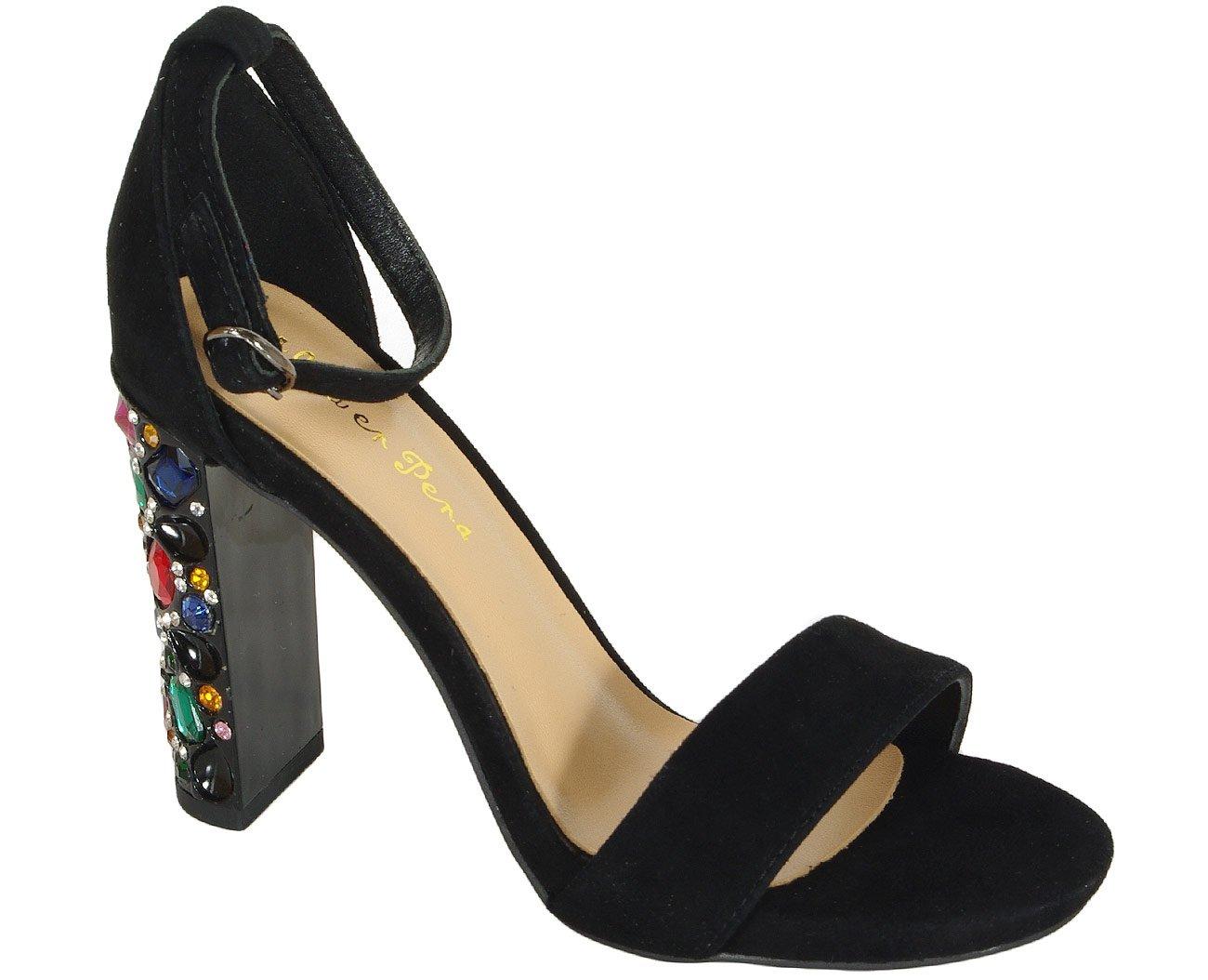 Alma en Pena 19310 sandały suede black
