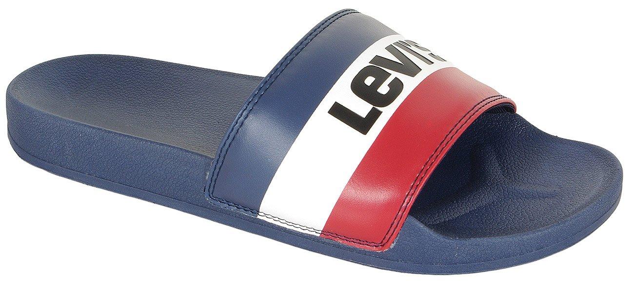 Levis June Sportswear klapki royal blue