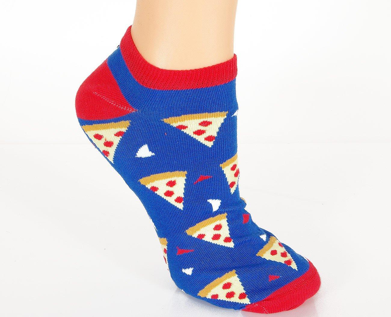 Milena Pizza stopki damskie niebieski
