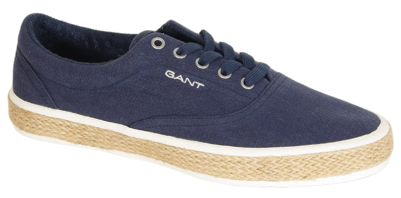 Gant Fresno sneakers washed linnen marine