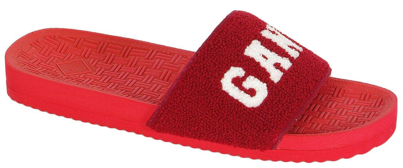 Gant Haley klapki terry cotton cardinal red