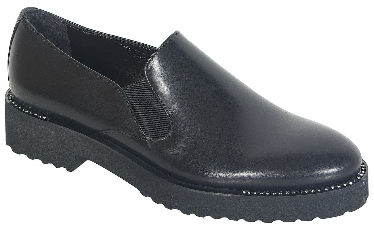 Luca Grossi B086m Old Calf Nero loafers