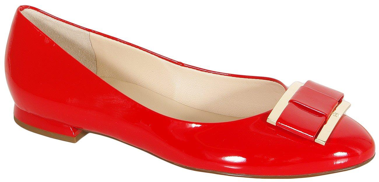 Hogl 1064 Harmony baleriny softlack leder scarlet