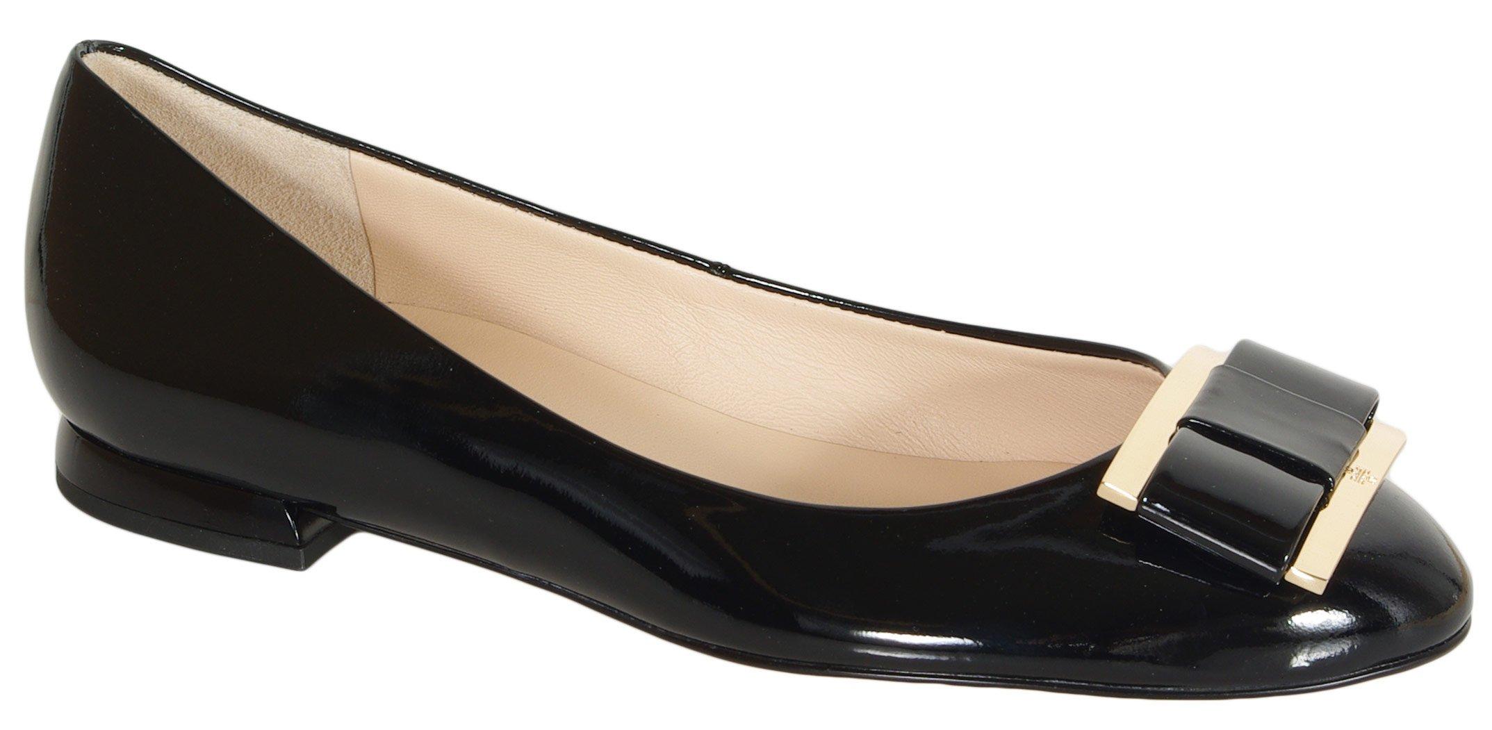 Hogl 1064 Harmony baleriny softlack leder black