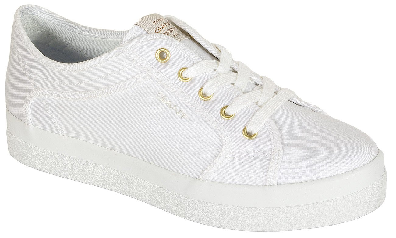 Gant Aurora sneakers tencel twill white