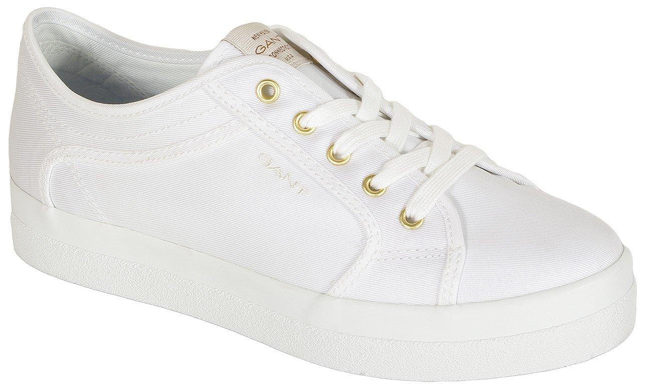 Gant Aurora sneakers tencel twill white