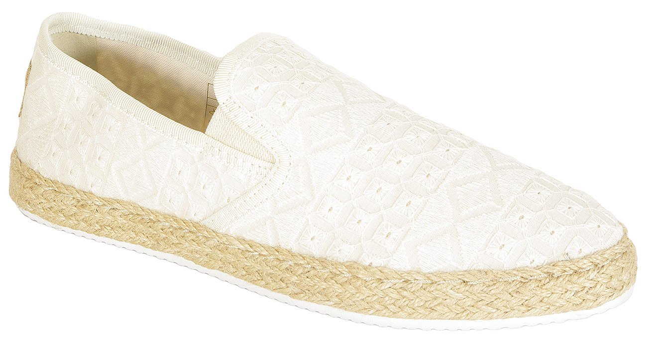 Gant Krista slip on broderine cotton bone beige