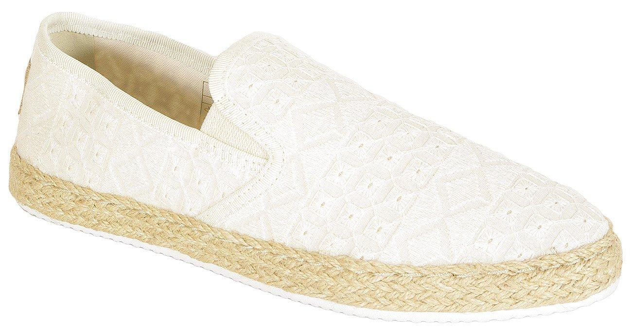 Gant Krista slip on broderine cotton bone beige